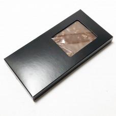 Esker til sjokoladeplater160x80x15 mm svart matt (100-pakke)