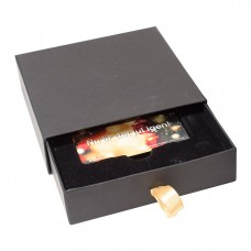 Gaveeske Drawer Box 125x125x30 mm svart