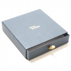 Smykkeeske Drawer Box 158x158x33 mm grå