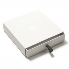 Smykkeeske Drawer Box 158x158x33 mm hvit