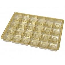 innlegg 220x160x20 mm 24 pr gull (100-pakke)