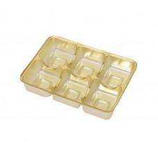 innlegg 112x82x20 mm 6 pr gull (100-pakke)