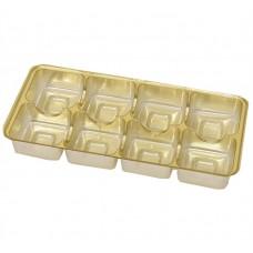 innlegg 159x78x20 mm 8 pr gull (100-pakke)
