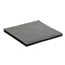 Softwell 78x82x3 mm för 4 pralin svart (100-pakke)