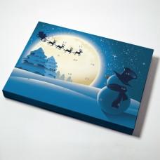 Adventskalender Snømann  (25-pack)