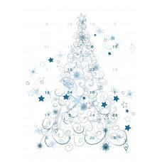 Adventskalender Juletre  (25-pack)