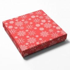 Eske og lokk Jul 2 125x125x25 mm (100-pakke)