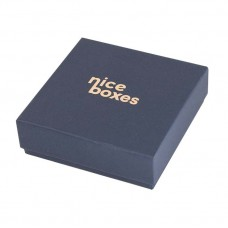 Brilliance eske med lokk 80x80x23 mm navy