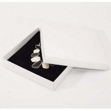Smykkeeske Sober 160x160x32 mm hvit (100-pakke)