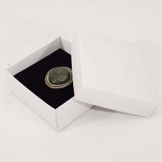 Smykkeeske Sober 78x82x32 mm hvit (100-pakke)