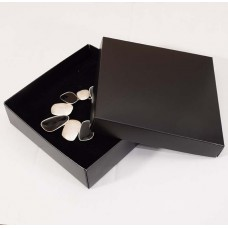 Smykkeeske Sober 125x125x32 mm svart (100-pakke)