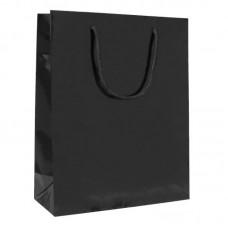 Luxbag blank svart 140x70x140mm 250-pakke